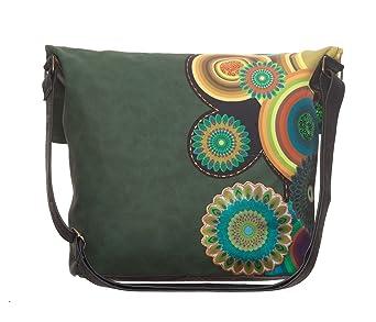 a2f8633361e25 ... lesen schreiben Käufer Aufrufe kurz vor kaufen DESIGUAL 46X5019 Bols  Ibiza Twist Circle Damen Handtasche