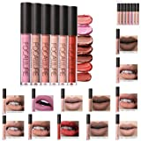 Hot Sales! DEESEE(TM) FOCALLURE New Lipstick Cosmetics Women Sexy Lips Matte Lip Gloss Party (D)