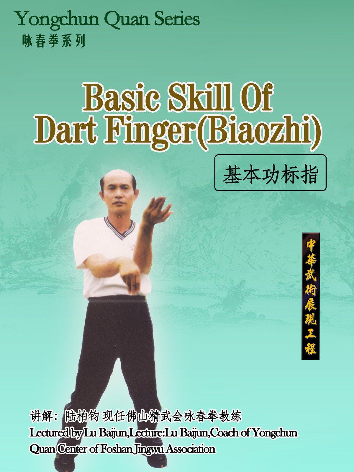 Yongchun Quan Series-Basic Skill Of Dart Finger(Biaozhi) (Lectured by Lu Baijun)