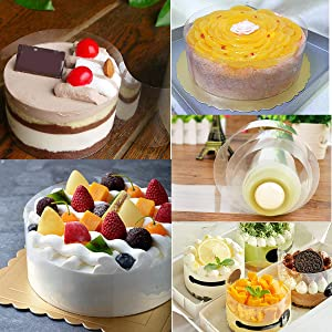 Acetate Sheets Roll for DIY Chocolate,Mousse Cake Collars Baking10cm*10m