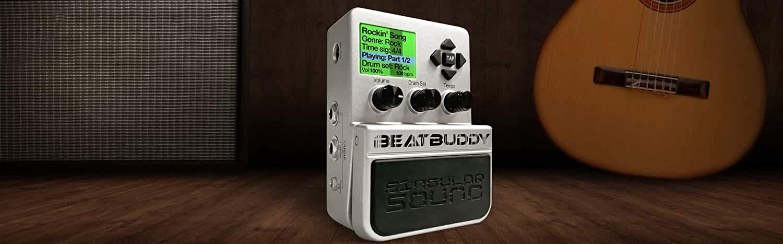 singular sound beatbuddy the first guitar pedal drum machine. Black Bedroom Furniture Sets. Home Design Ideas