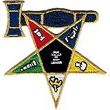 Eastern Star Past Matron Emblem Iron-On Patch [2.875