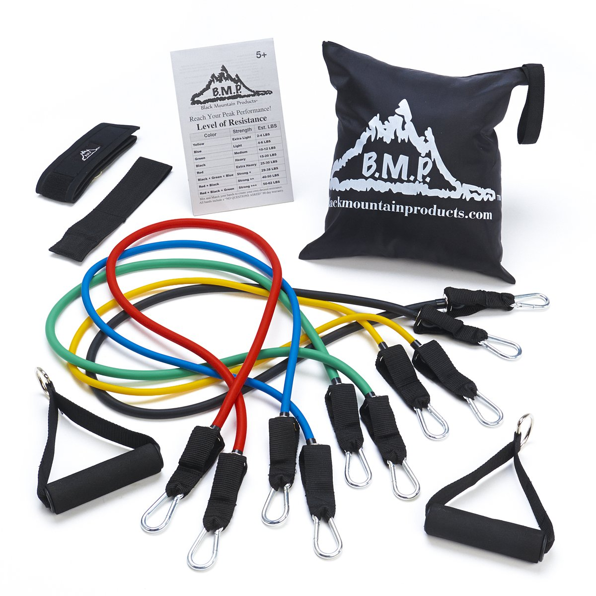 fast metabolism diet products, Black Mountain Products Resistance Band Set