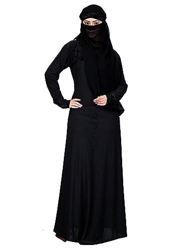 Amazon.com: Muslim Islamic Women Full Length Plain Burka/Burqa ...
