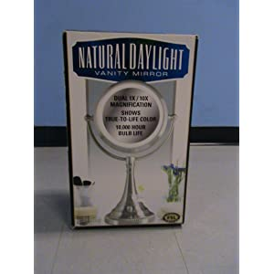 Sunter Natural Daylight Lighted Vanity Makeup Mirror Reviews