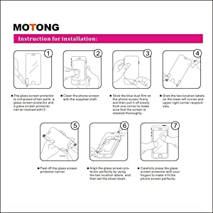 MOTONG for Suunto 5 Screen Protector - Tempered Glass Screen Protectors for Suunto 5 Watch,9 H Hardness,0.3mm Thickness,Made from Real Glass