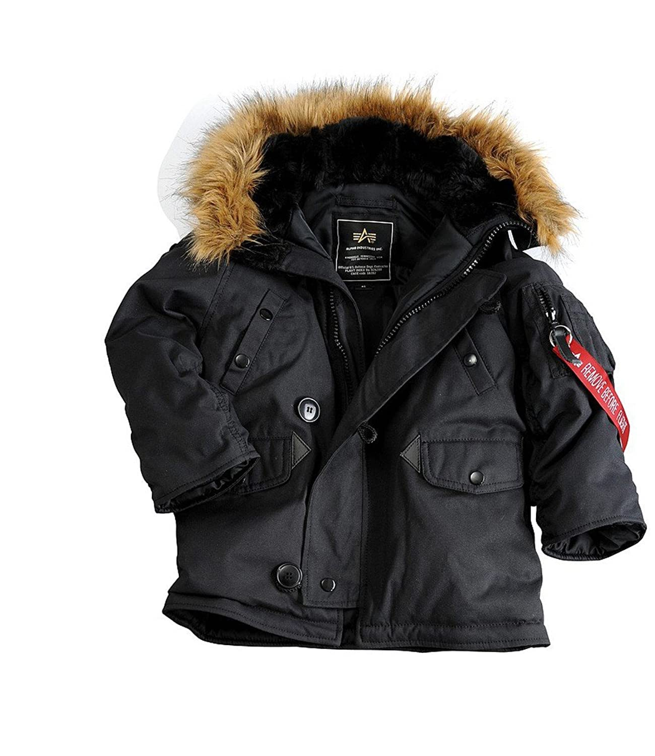 Alpha Industries Kids Explorer Winterjacke Rep.Gre günstig