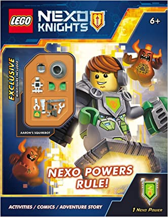 Activity Book #1 With Minifigure (LEGO Big Bang) (Lego Nexo Knights)