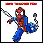 How To Draw Lego Marvel Super Heroes...