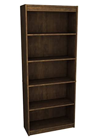 Bestar Standard Bookcase, Chocolate