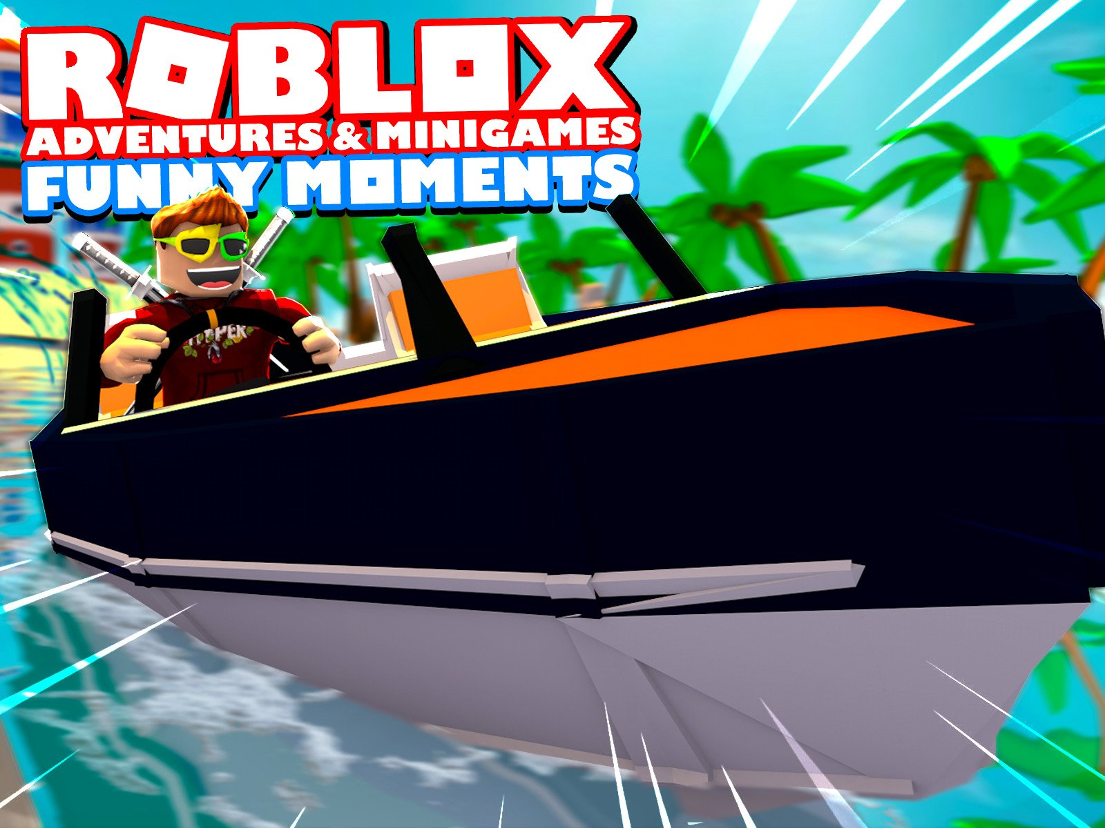 Roblox Adventures & Minigames (Funny Moments)