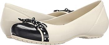 Crocs Womens Cap Toe Bow Flat