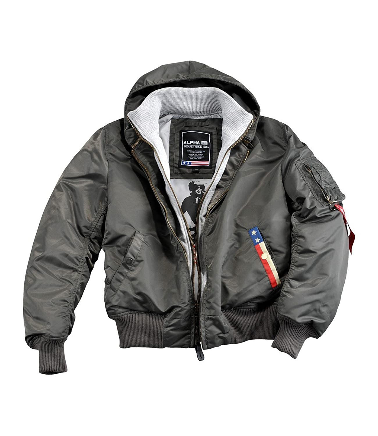 Alpha Industries Patriot Winterjacket Black Schwarz