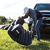 DS18 AUTO-MAT/BK Black Multifunctional Pet Friendly Mattress Inflated Bed Cushion Camping Universal SUV Car Back Seat, Pump for Travel with 2 Air Pillows (Color: Black)