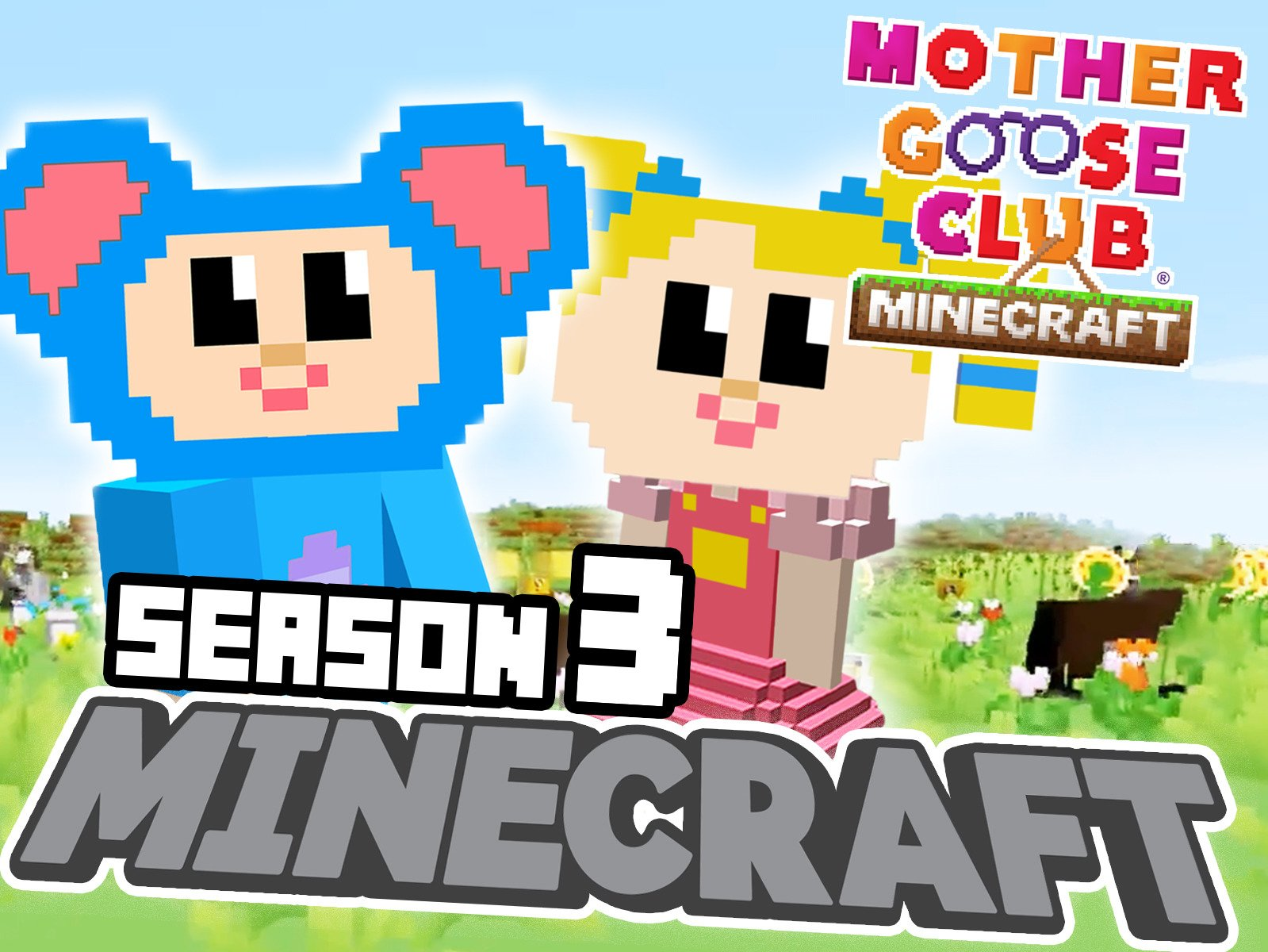 Clip: Mother Goose Club: Minecraft on Amazon Prime Video UK