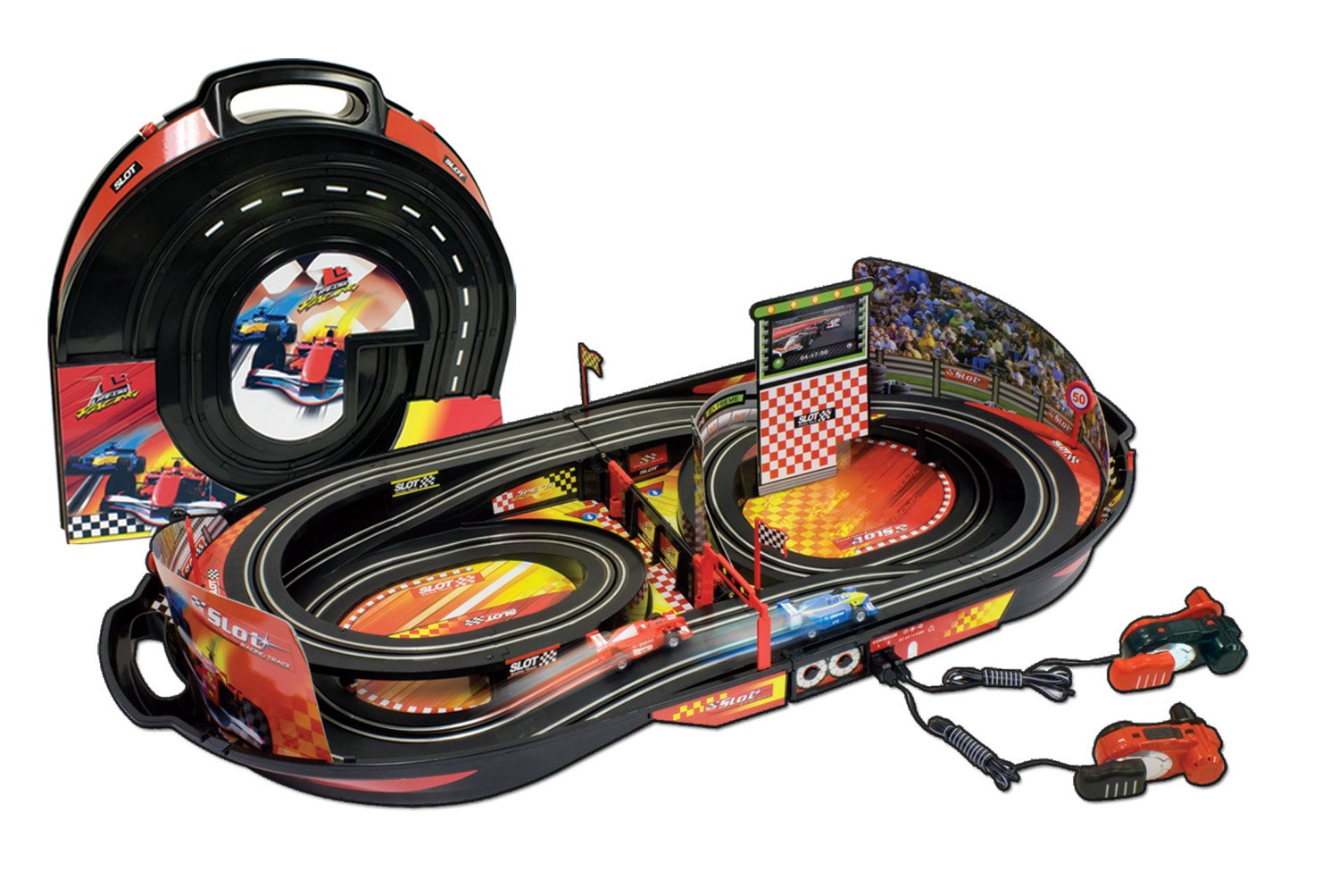 Toy Car Track : Slot car race tracks for kids webnuggetz