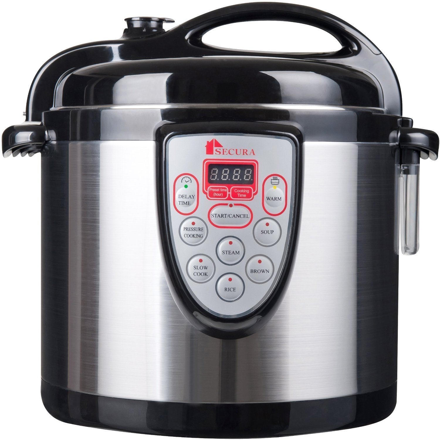 Fagor duo 8 quart pressure cooker -  Secura 6 In 1 Electric Pressure Cooker Fagor Duo Stainless Steel