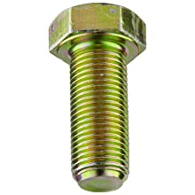Grade 5 Zinc Yellow-Chromate Plated Steel Hex Cap Screw
