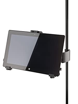 K&M Stands K&M 19791.016.55 Universal iPad/Tablet Holder (