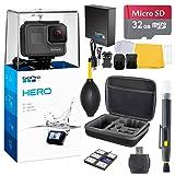 GoPro HERO (2018) Bundle (7 items) + 32GB Card + Camera Case + Accessory Kit (Color: Black)