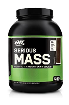 Optimum Nutrition Serious Mass 6 lbs Chocolate
