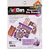 ArtBin 6979AB DIE Cut MAGENTIC STOAGE Sheets Refills 3PK, 3, Multicolor - 3 Pack (Tamaño: 3 Pack of 3 Sheets)