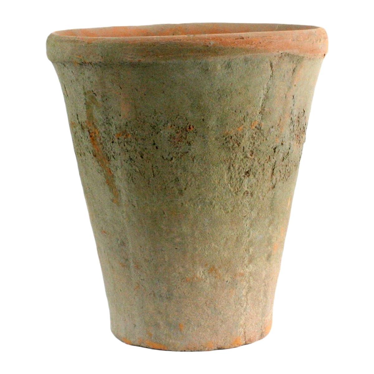 Rustic Terra Cotta Rose Pot, Large, Antique Red