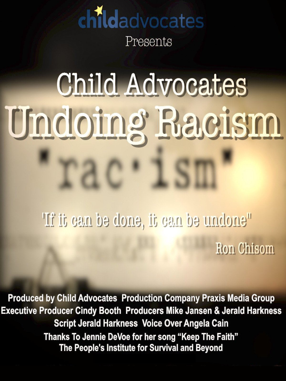 Child Advocates Undoing Racism