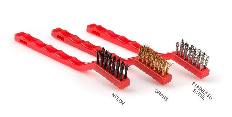 TEKTON 7064 Mini Wire Brush Set Via Amazon