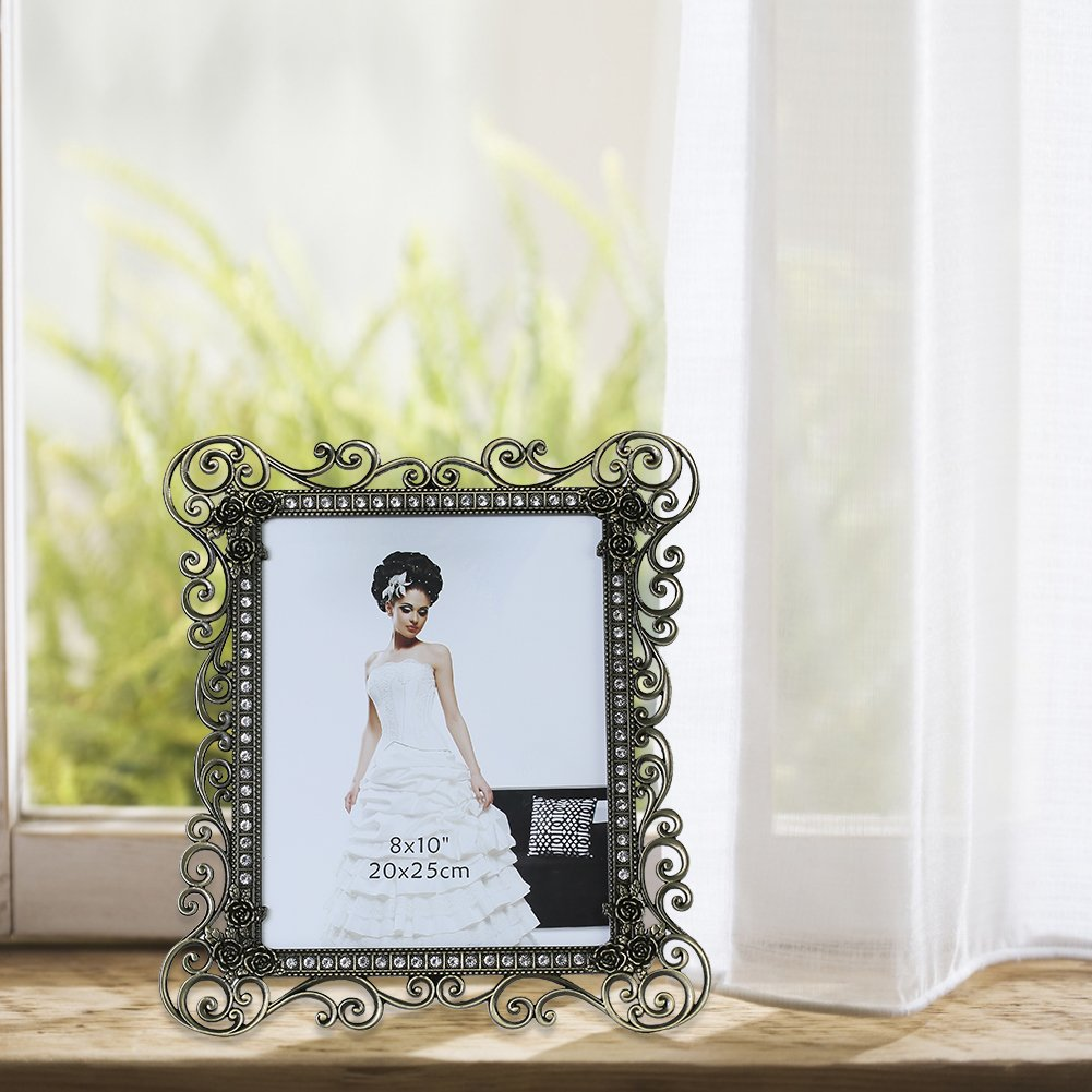 Gift Garden 8 by10-inch Vintage Picture Frame for 8x10 Photo 2