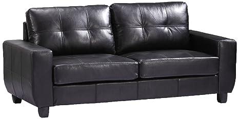 Glory Furniture G203A-S Living Room Sofa, Black
