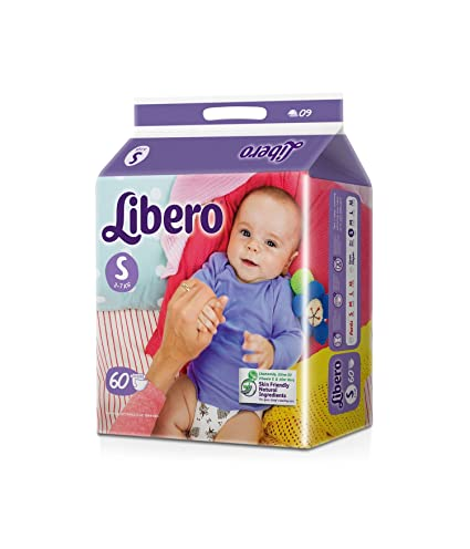 Libero Small Size Open Diaper (60 Count)