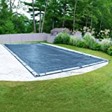 Pool Mate 352040RPM Heavy-Duty Blue Winter Pool Cover for In-Ground Swimming Pools, 20 x 40-ft. In-Ground Pool (Color: Blue, Tamaño: 20 x 40-ft. Pool)