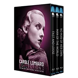 Carole Lombard Collection I [Fast and Loose / Man of the World / No Man of Her Own] [Blu-ray]