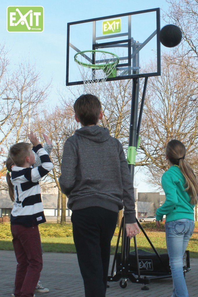 EXIT GALAXY Portable Basketballkorb mit Dunkring