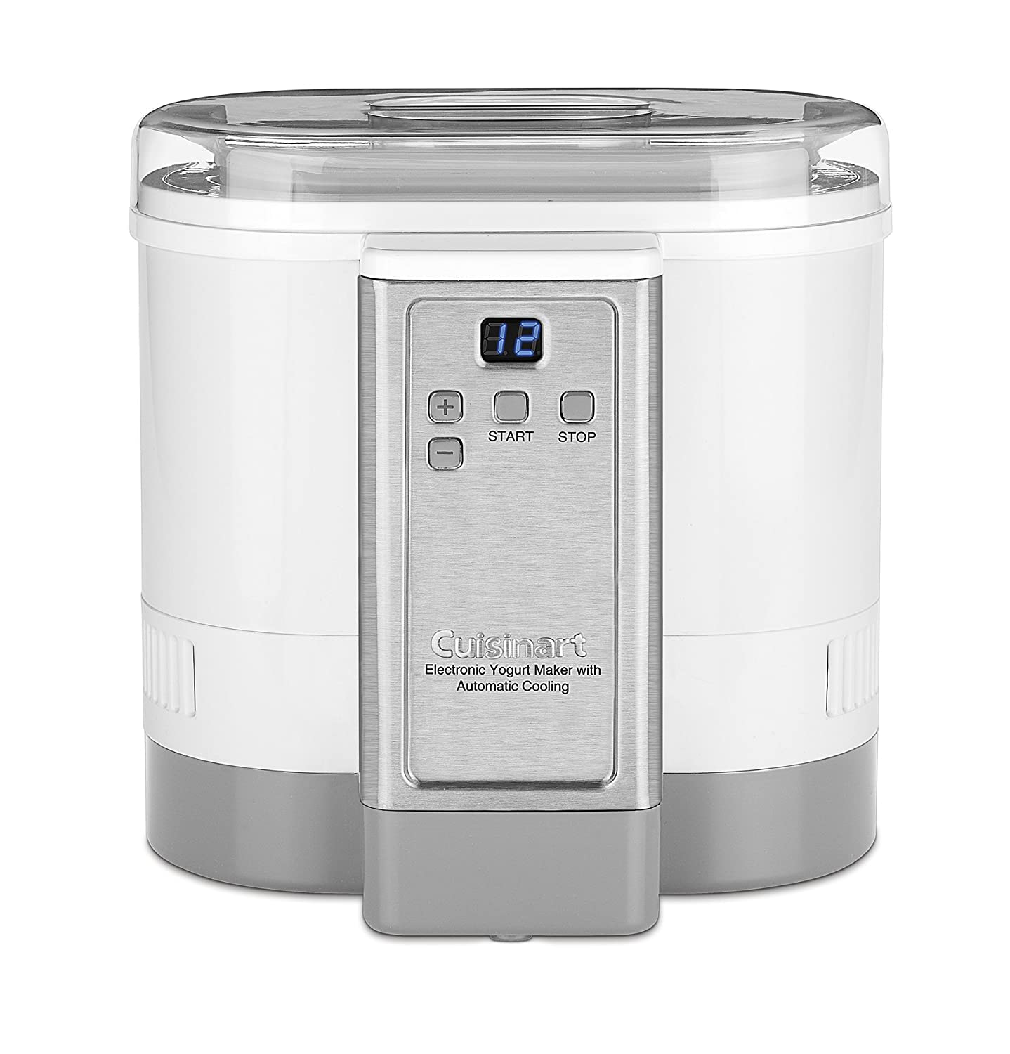 Cuisinart CYM-100 Electronic Yogurt Maker with Automatic Cooling White