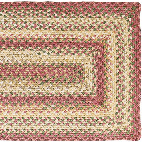 Homespice Rectangular Outdoor Braided Rugs, 2-Feet by 3-Feet, Barcelona