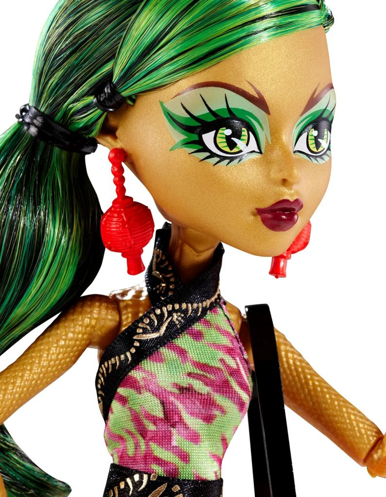 Amazon.com: Monster High New Scaremester Jinafire Long Fashion Doll