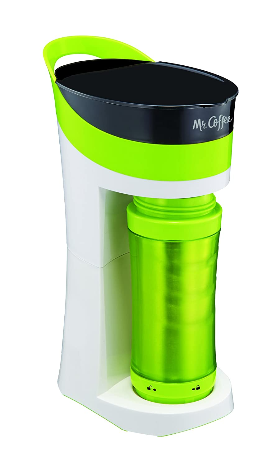 Mr Coffee Pour Brew Go 16 Ounce Personal Coffee Makers