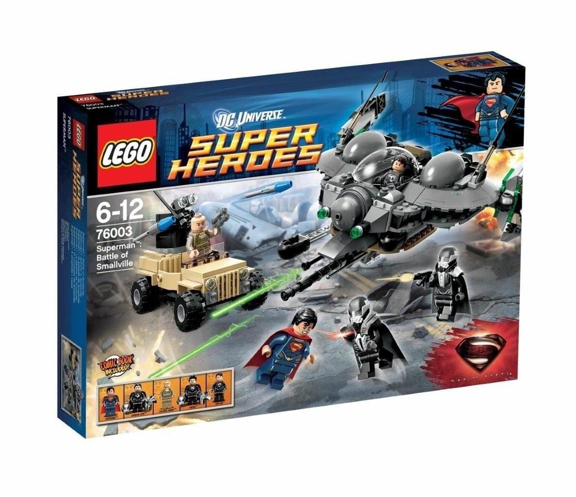 LEGO DC Comics Super Heroes Superman: Aufruhr in Smallville 418Stück, 76003 bestellen