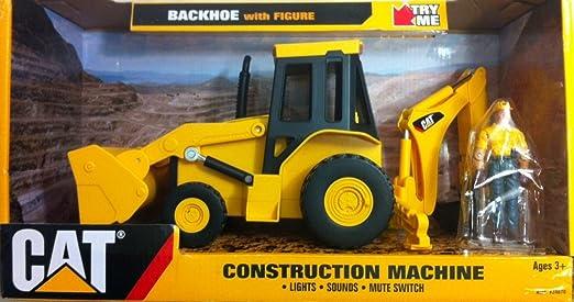 Cat Backhoe Toy Cat Backhoe With Figure