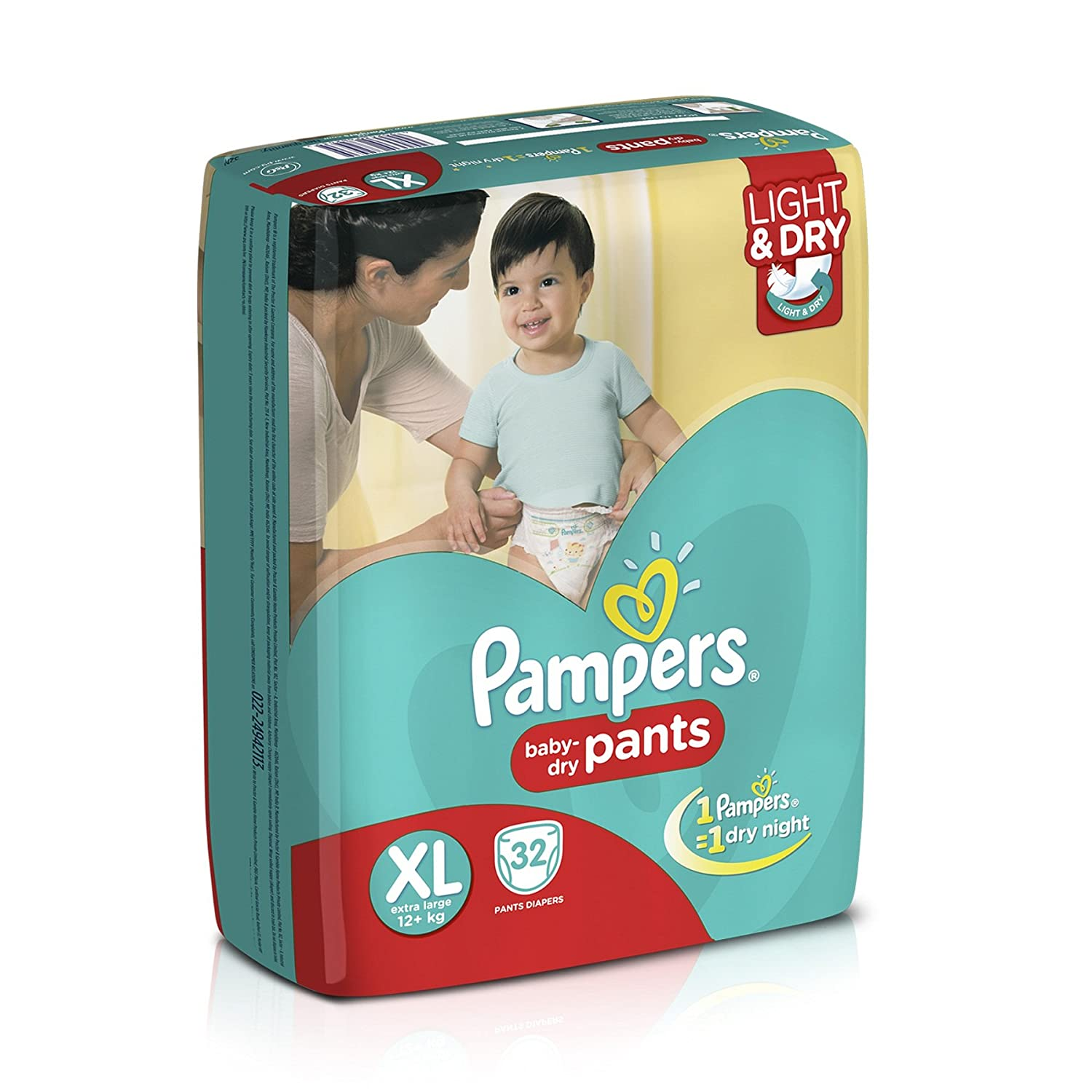 Pampers Active Baby Extra Large Size Diapers (32 Count) discount offer