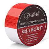 Red White Reflective Tape for Trailers,Trucks,Cars-2