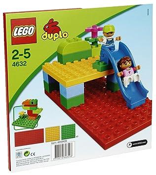 LEGO DUPLO Briques - 4632 - Jouet d'Eveil - Plaques de Construction