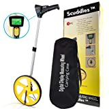Scuddles Measuring Wheel Digital Display 12-Inch Can Measure Up To 10,000 Feet Perfect surveying Tool For Distance Measurment (Color: Digital Display)