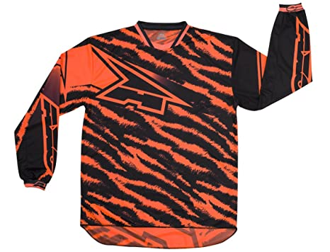 AXO MX5T0058-O04 Dyemax Jersey, Taille M, Orange