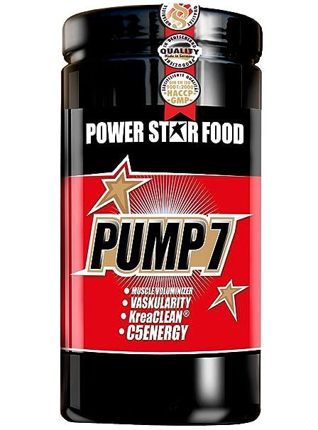 PUMP 7, Dose 1125 g à 45 Portionen, 7 Nährstoff-Kombinationen fur mehr Leistung in Training und Wettkampf, Kraftsteigerung. Geschmack: Cassis