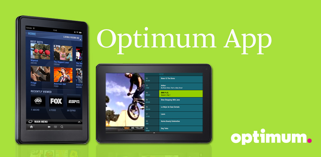 Optimum app for android tablet
