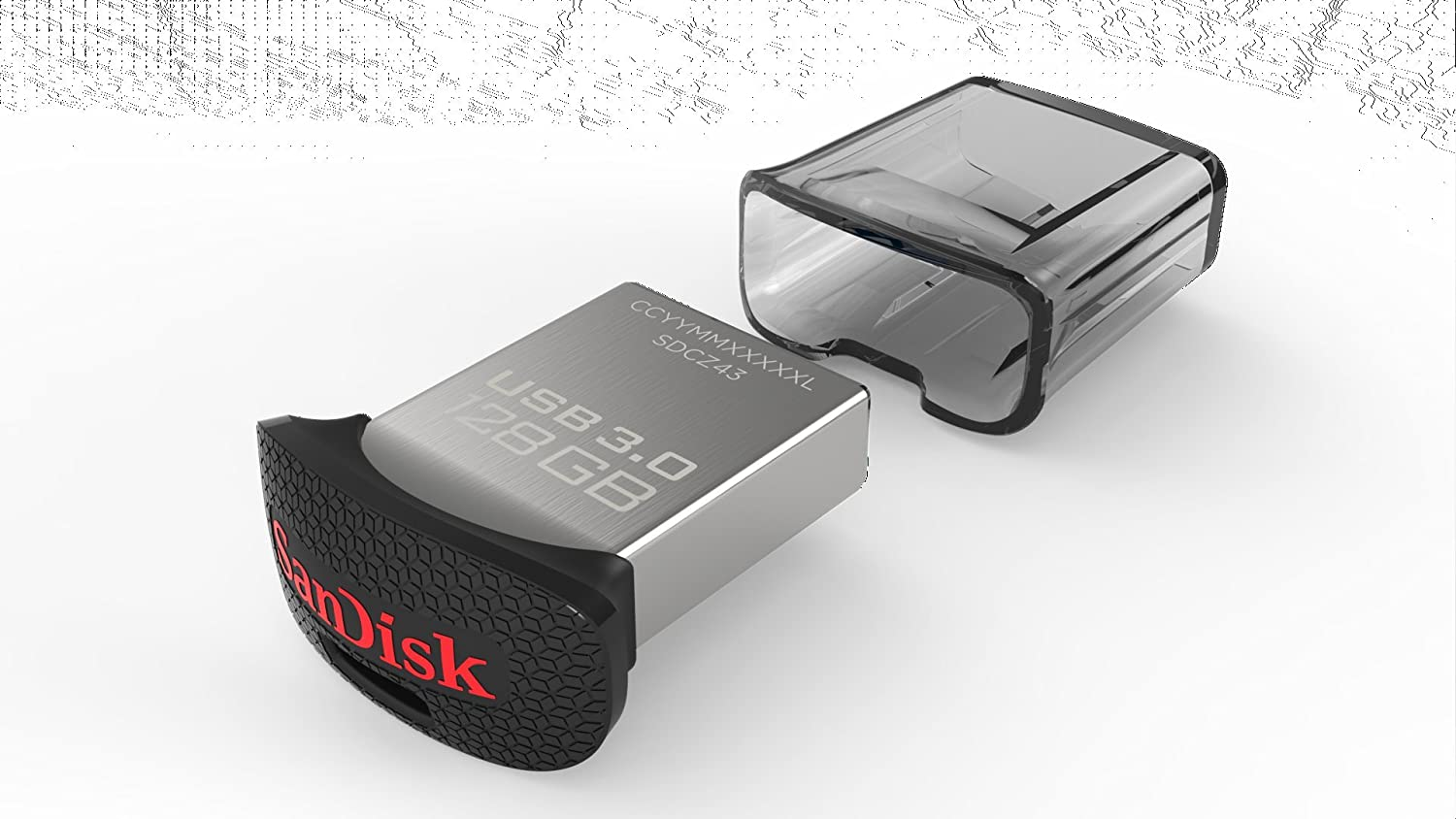 SanDisk Ultra Fit 128GB USB 3.0 Flash Drive (SDCZ43-128G-GAM46) [Newest Version]