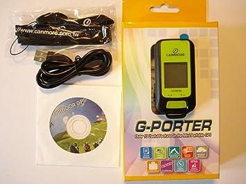 GP-102 G-Porter Multifonction Localisateur GPS Tracker Altimeter Enregistreur//Set avec Chargeur Bleu
